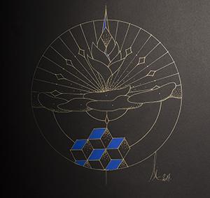 Lotus bleu et Précieux cachés